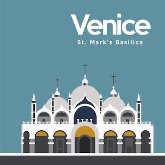 Projeto do fundo de veneza