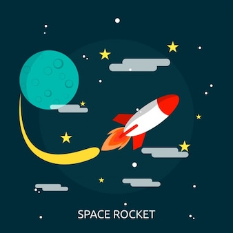 Projeto do fundo do espaço