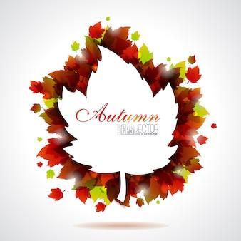 Projeto do fundo do outono