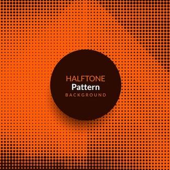 Projeto do fundo do padrão de meio-tom moderno abstrato