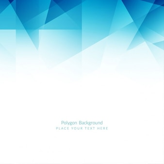 Projeto do fundo do polígono azul