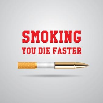 Projeto do fundo do tabaco