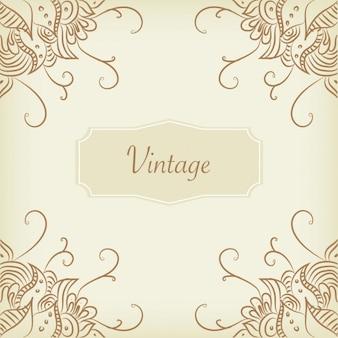 Projeto do fundo do vintage