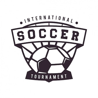 Projeto do futebol modelo de logotipo