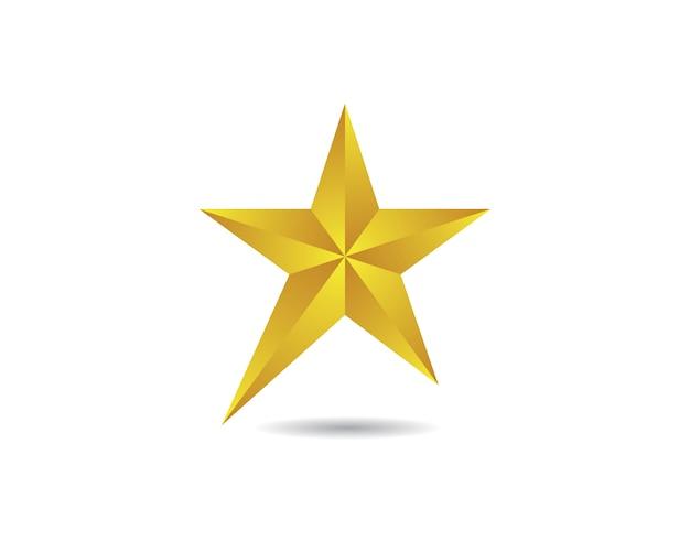 Projeto do ícone do vetor da estrela
