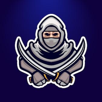 Projeto do logo do ninja e-sport