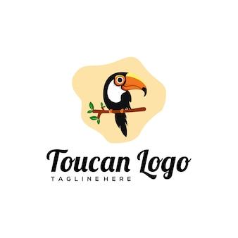 Projeto do logotipo de toucan