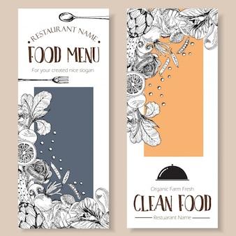 Projeto do menu do restaurante
