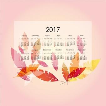 Projeto do molde do calendário