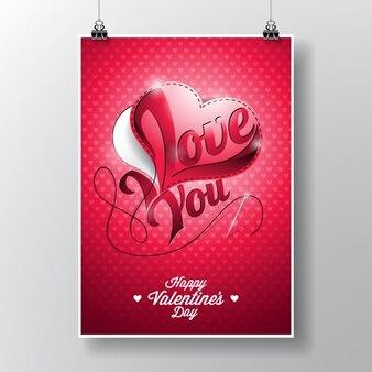 Projeto do poster dos namorados