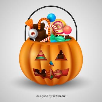 Projeto do saco de halloween