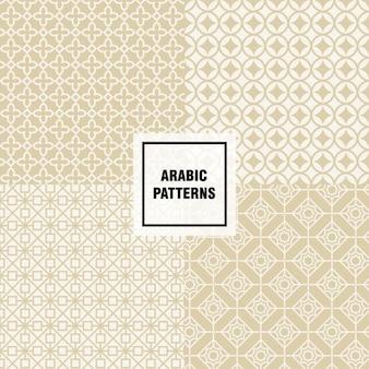 Projeto do teste padrão árabe