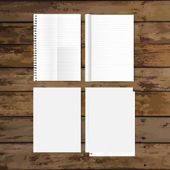 Projeto dos papéis vazias