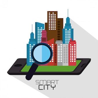Projeto esperto da cidade