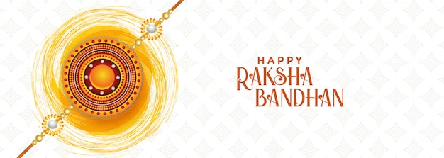 Projeto feliz da bandeira do festival do bandhan do raksha