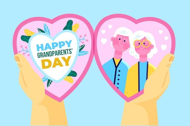 Projeto ilustrado dia dos avós