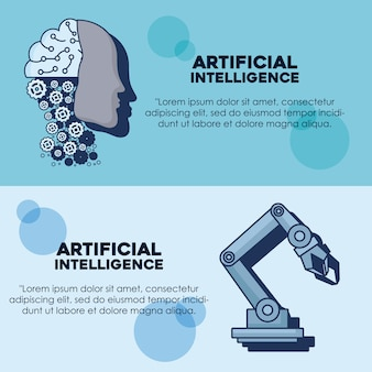 Projeto infográfico de inteligência artificial