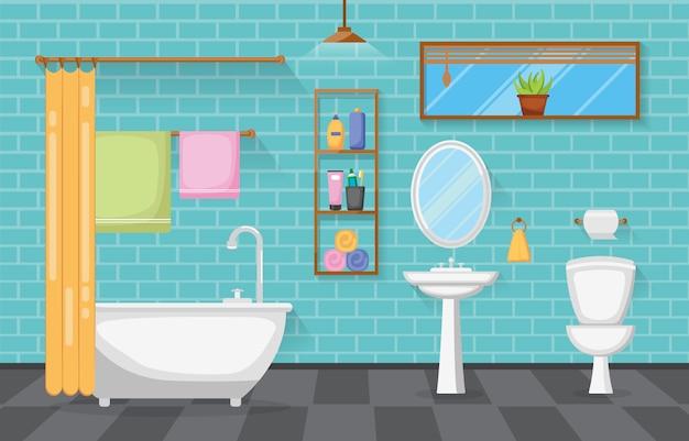 Projeto liso da mobília de madeira interior clássica do acento do quarto desinfetado do banheiro
