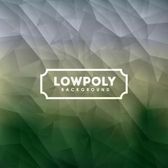 Projeto lowpoly sobre fundo colorido