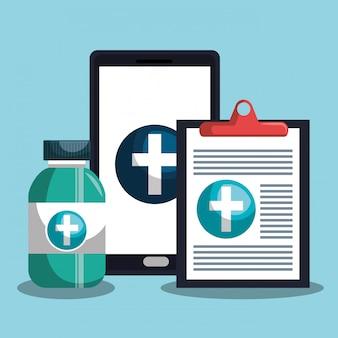 Projeto médico de saúde