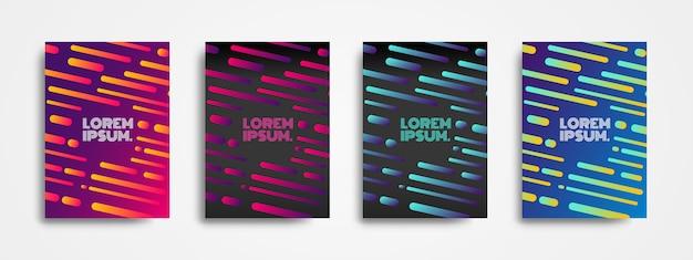 Projeto moderno do fundo com forma dinâmica e inclinações coloridos.