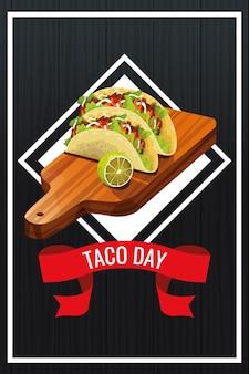 Projeto nacional da celebração do dia do taco