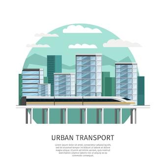 Projeto ortogonal de transporte ferroviário urbano