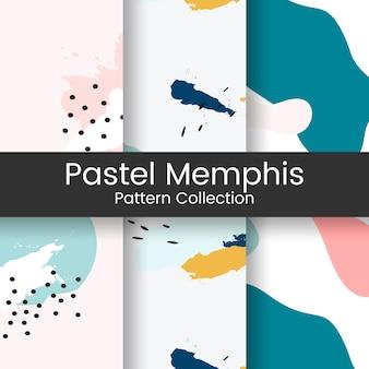 Projeto pastel do teste padrão de memphis