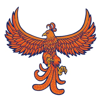 Projeto phoenix desenhado à mão