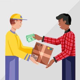 Projeto plano, dinheiro na entrega