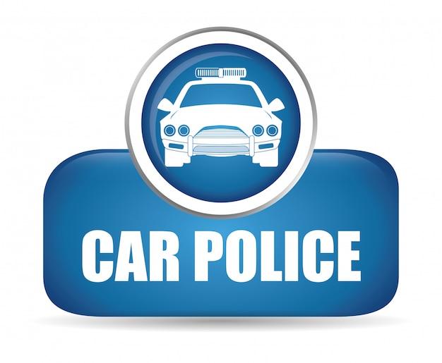 Projeto policial Vetor Premium
