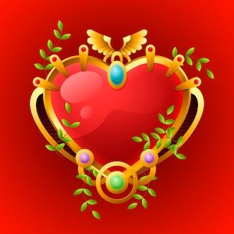 Projeto realista de coração sagrado
