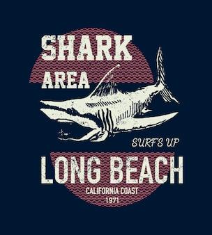 Projeto tubarão vintage
