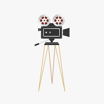 Projetor de filme. câmera de cinema vintage