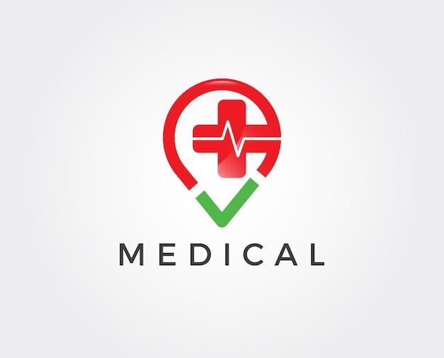 Projetos de logotipo médico digital
