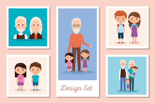 Projetos definir cenas de avós com netos