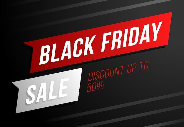 Promoção da black friday com desconto de 50%