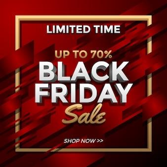 Promoção de black friday por tempo limitado