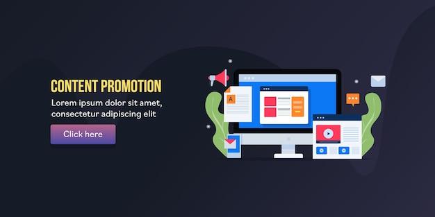 Promoção de conteúdo