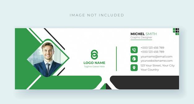 Promoção de negócios e modelo de capa criativa do facebook premium vector