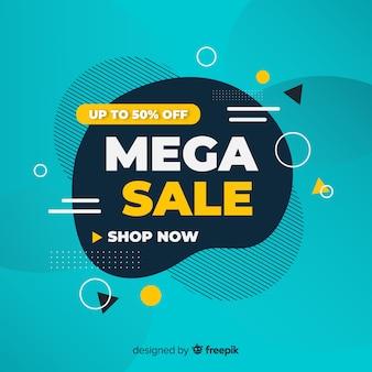 Promoção de vendas abstrata