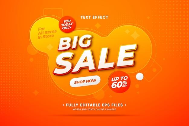 Promoção de vendas com formas abstratas