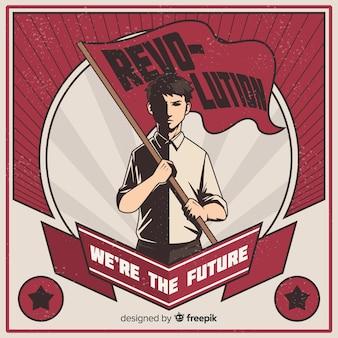 Propaganda da revolução retro