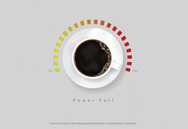 Propaganda do cartaz do café ilustração dos insectos