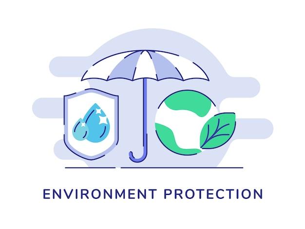 Proteção ambiental proteção guarda chuva queda de água