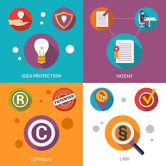 Proteção da ideia de patentes