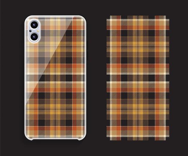 Proteção de capa padrão sem emenda de smartphone
