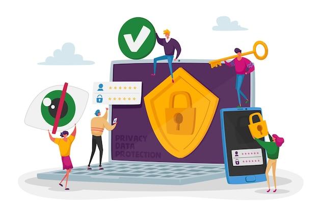 Proteção de dados de privacidade na internet