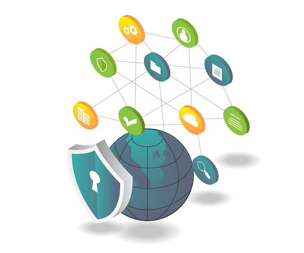 Proteção de rede e equipe