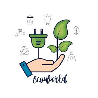 Proteção ecológica aos cuidados com o meio ambiente natural
